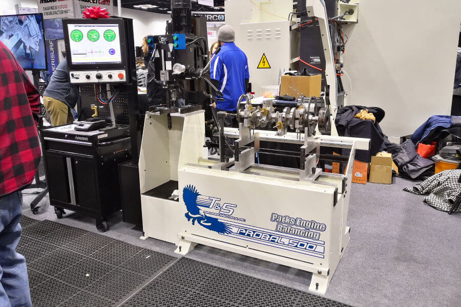 T&S Machines - ProBal 500 Deluxe Crankshaft Balancing Machine