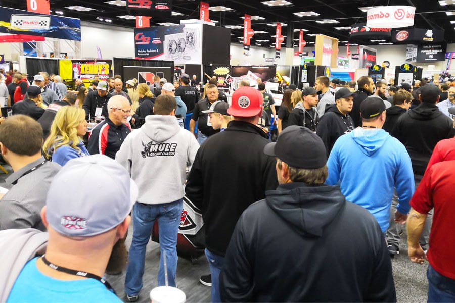 Huge number of visitors at the PRI 2018