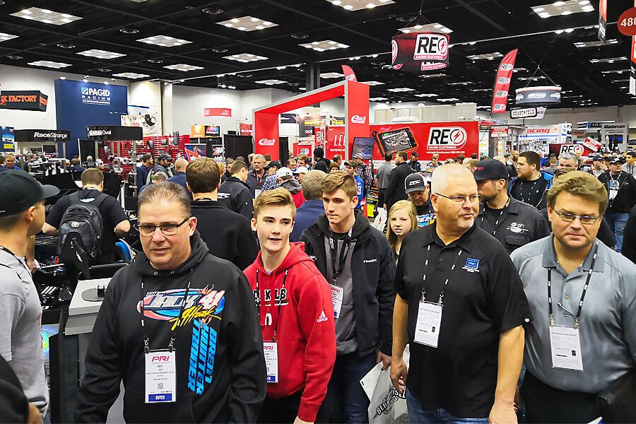People of all ages at the PRI 2018