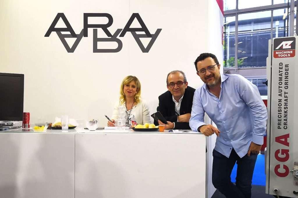 El personal de ARA en Autopromotec 2019