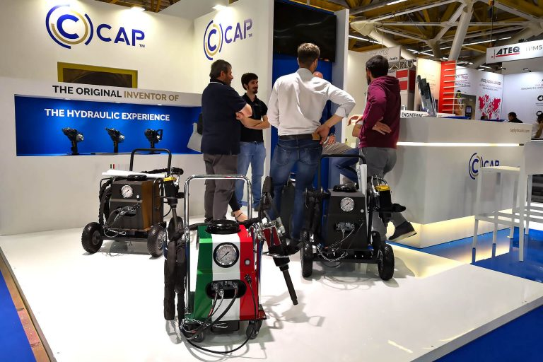 CAP products exposed at Autopromotec 2019