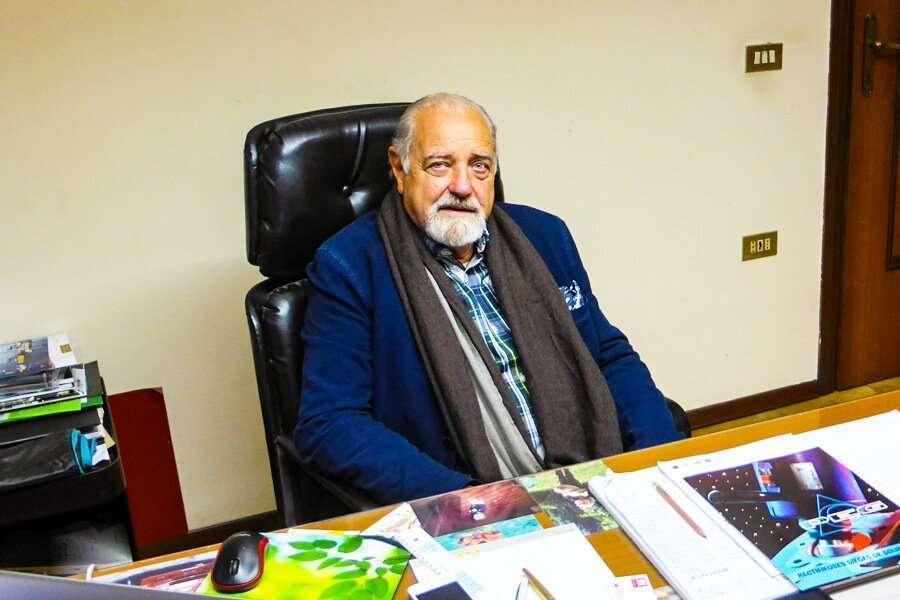 El dueño de Rossi & Kramer – PEG, Dr. Antonio Daminato