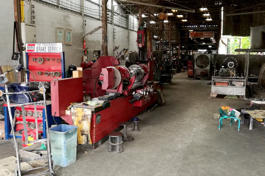 Crankshaft grinding machine AMC-Schou K2000U