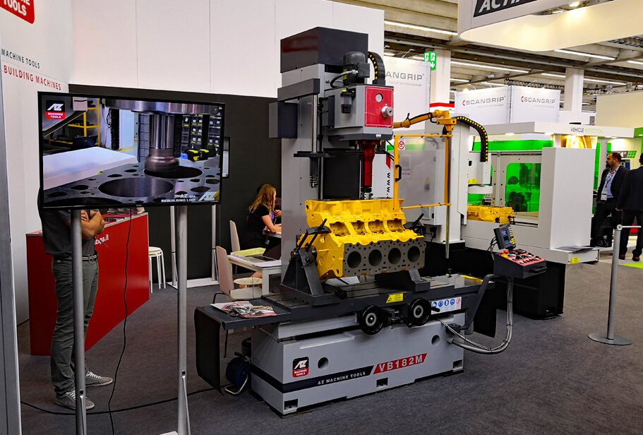 The VB 182M - Vertical boring and milling machine of AZ