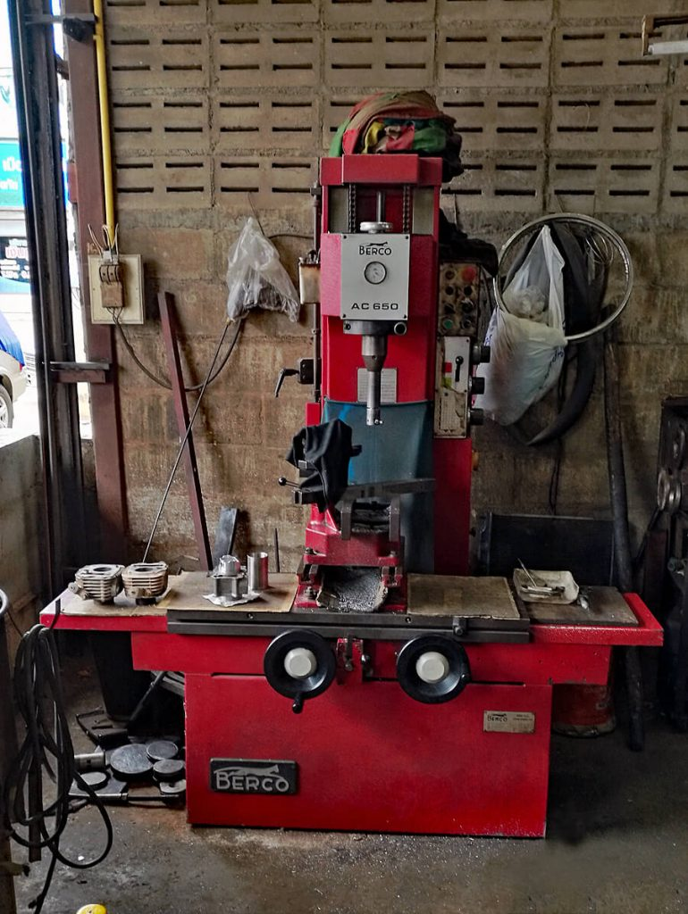 Boring machine Berco AC 650 M