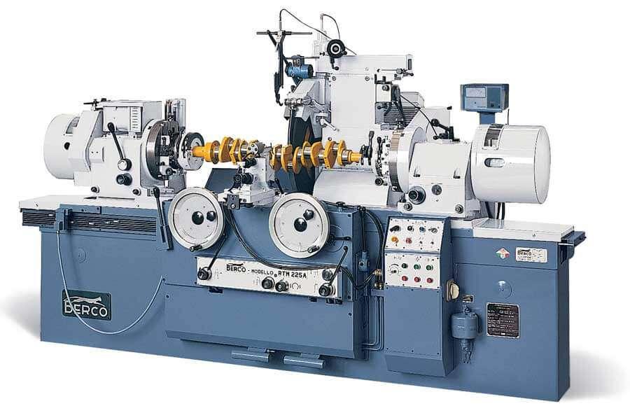 Berco RTM225A crankshaft grinding machine