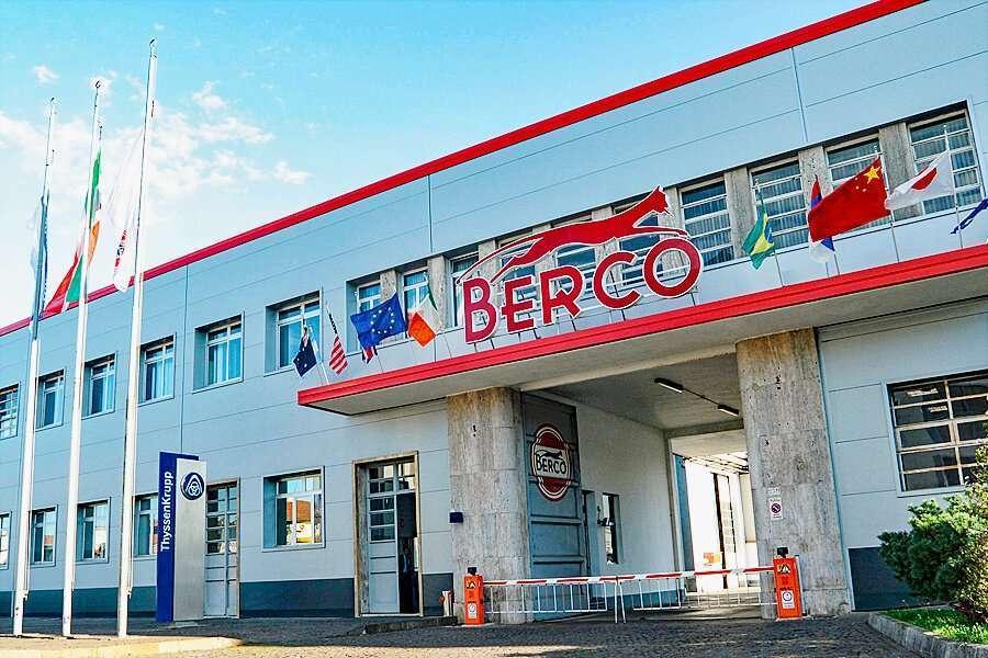 Ingresso della società Berco a Copparo - Ferrara
