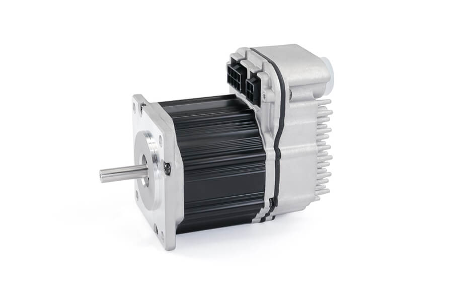 The high quality brushless motor that controls horizontal movement of Rottler S85A and S86A CNC Automatic Surfacing Machines