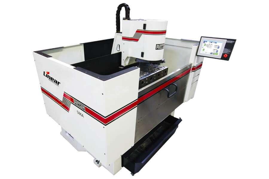 Rottler S86A spianatrice per testate CNC