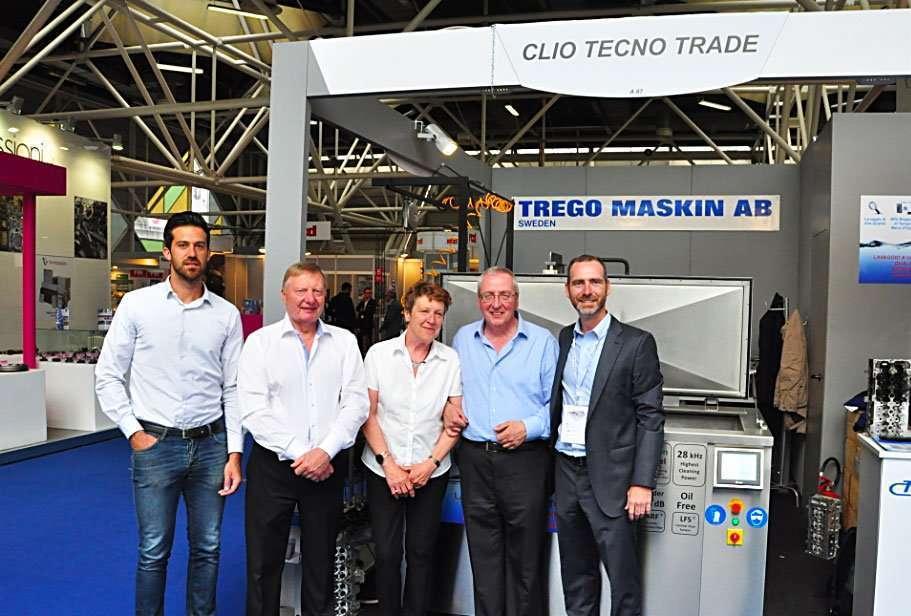 Clio Tecno Trade espone la pressa guidavalvola Trego GM600 Pressa per guide valvole testate