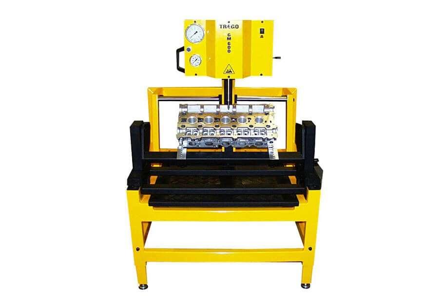Pressa idraulica per guide valvole Trego GM600