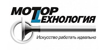 El logo de Motortehnology por la reparación de motores en Rusia