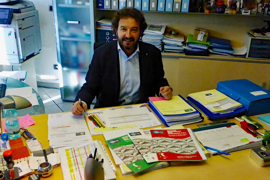 Luigi De Pra, General Director of OMAP - High Precision Mechanical Workshops