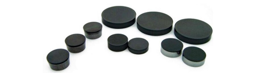 PCD and CBN inserts of ½″ and ⅜″ for cylinder head resurfacing