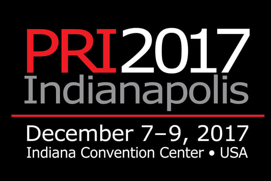 Il banner di PRI - Performance Racing Industry 2017