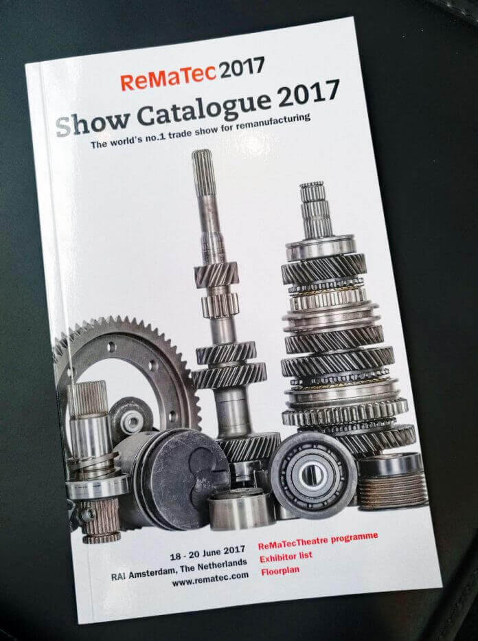 The General Catalogue of ReMaTec 2017