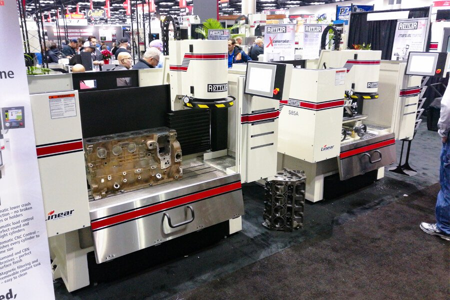 The Rottler S85A and S86A CNC Automatic Surfacing Machines at the Indianapolis PRI Show