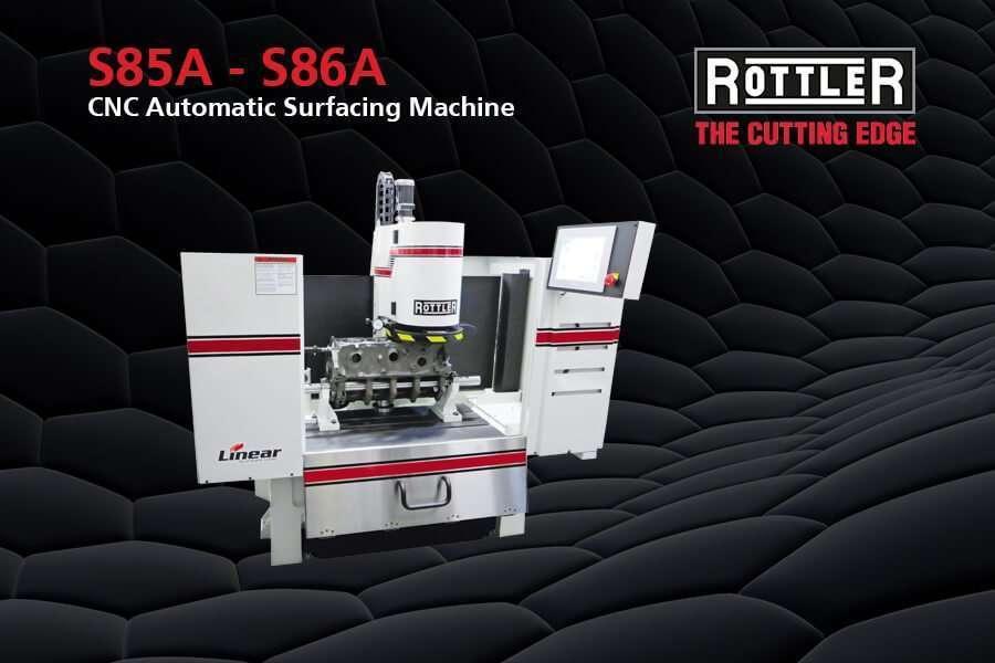 Cepilladoras automáticas CNC de superficie Rottler