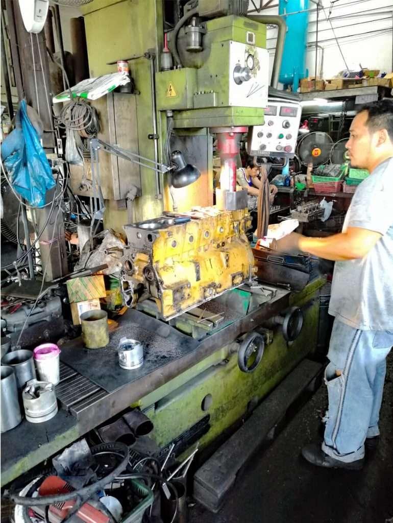 Boring machine Scledum AV 750