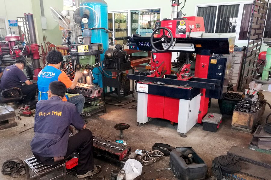 Valve seat cutting machine Serdi 3.5