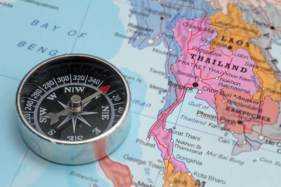 Mappa Rettifiche motori in Tailandia