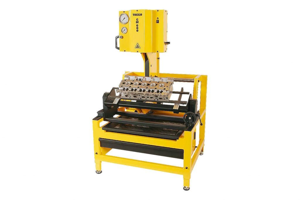 Trego GM600 valve guide removal press is better than other cylinder head guides press