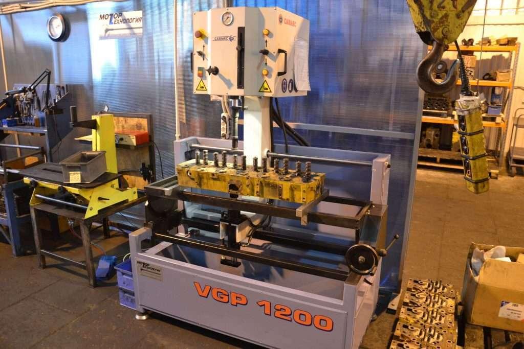 Pressa idraulica per guide valvole Carmec VGP1200