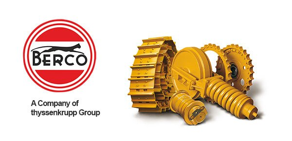 The Berco brand in the production of undercarriage parts