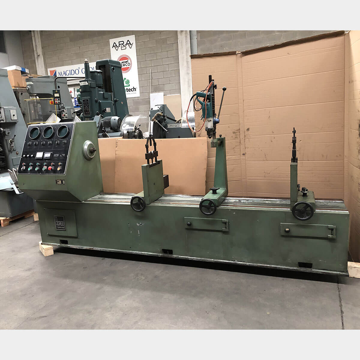 BORGO ED300R Used Balancing Machine