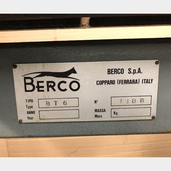 MU396 - BERCO BT6 Line boring machine