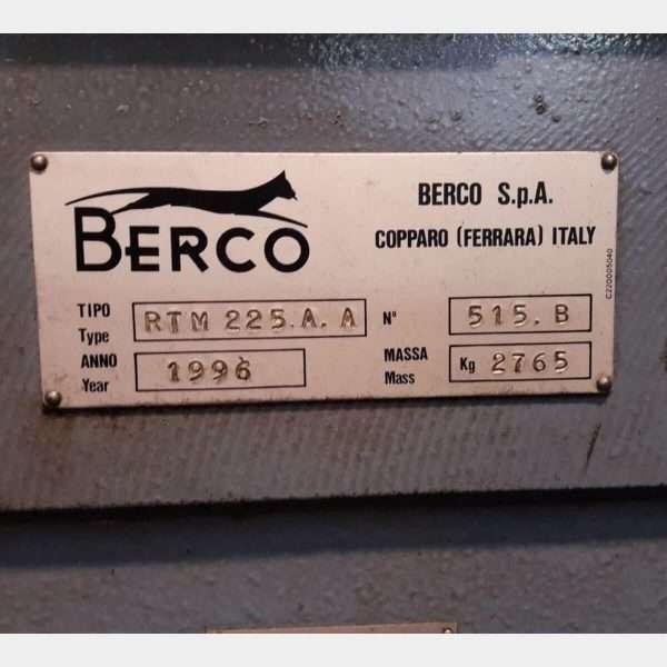 MU423 - BERCO RTM225A-1275 Rettifica Alberi a Gomito