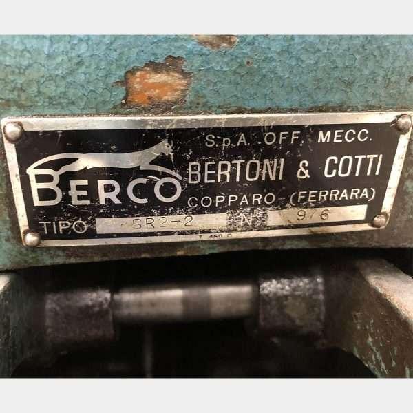 MU466 - BERCO SR2-2 Levigatrice Cilindri