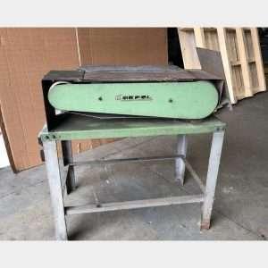 MARPOLbelt resurfacing machine