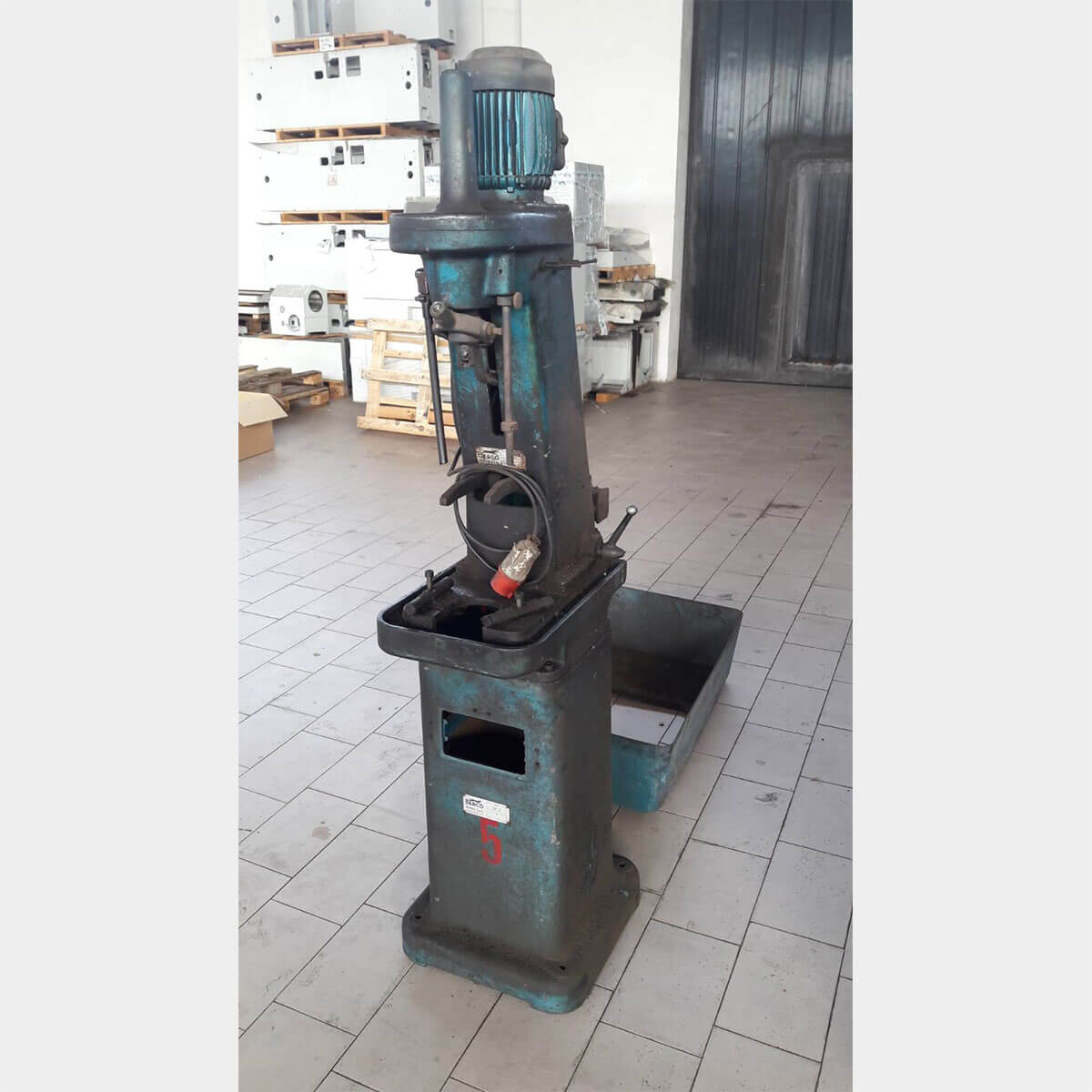BERCOSR2 Ccylinder honing machine