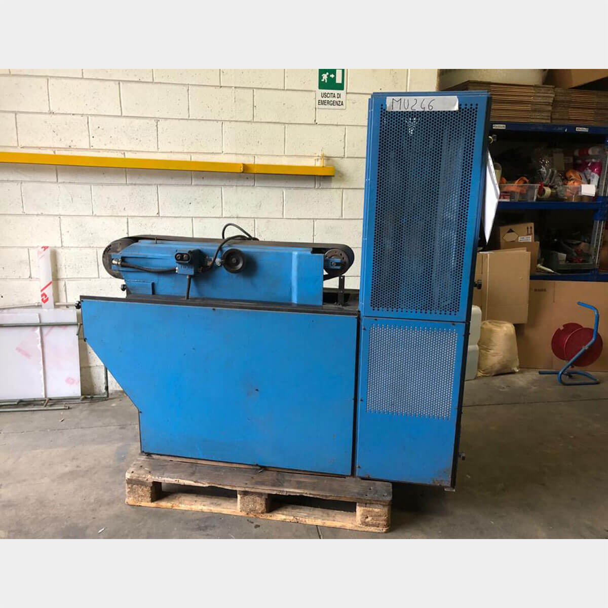 mu246 iperco belt resurfacing machine