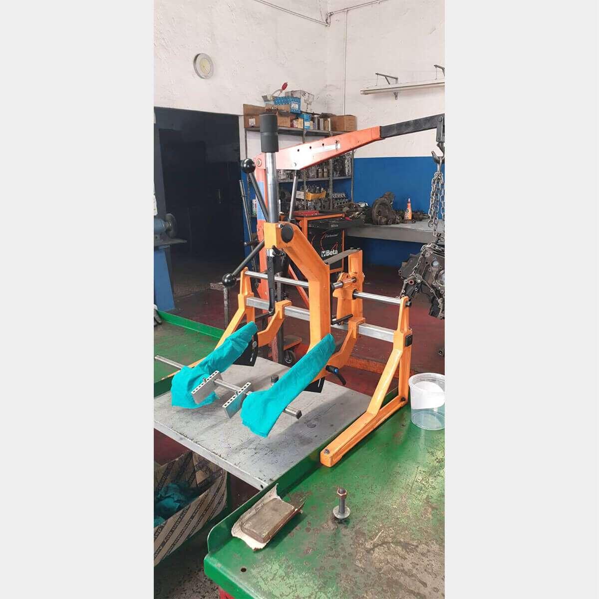 TREGOVFP50valve spring compressor bench