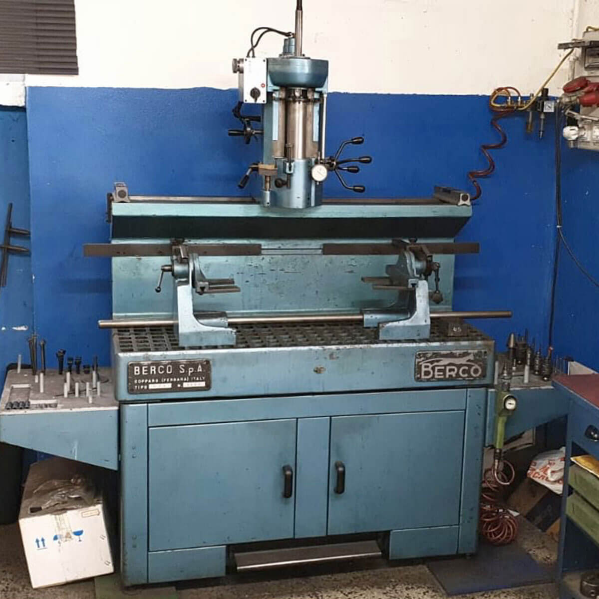 MU 378 - BERCO ASV valve seat cutting machine