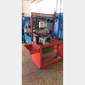 PMD COMBIbrake disc and drum lathe