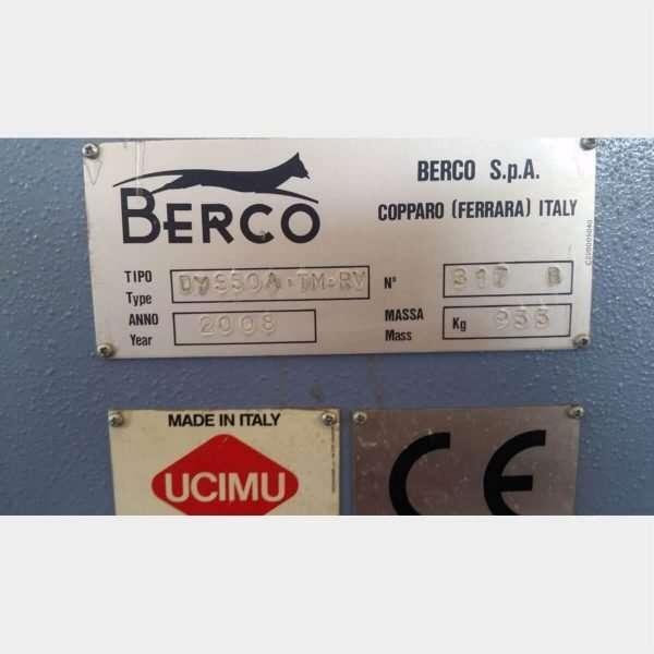 MU394 - BERCO DY350A/TM/RV BRUÑIDORA DE CILINDROS USADA
