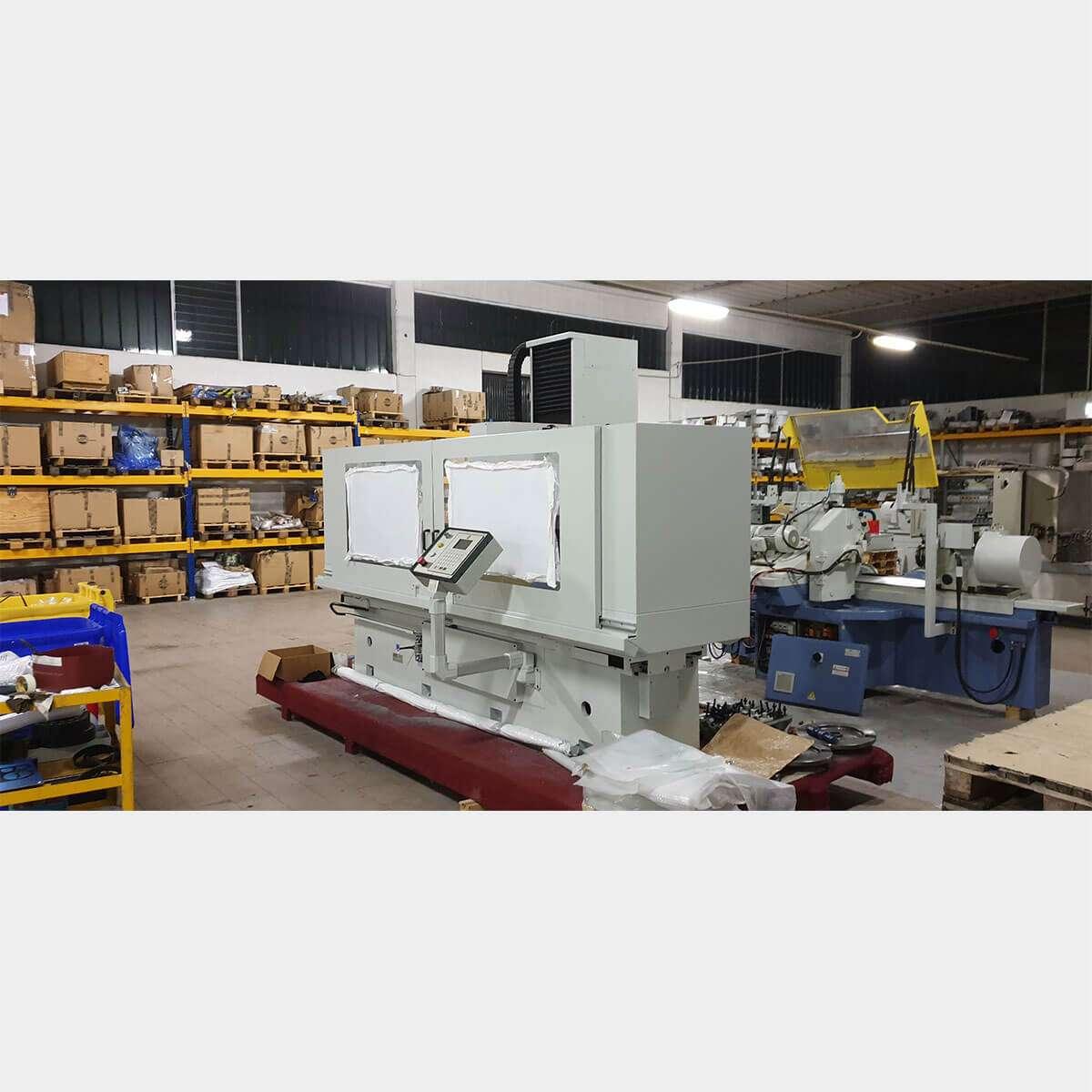BERCO SMG2000 Spianatrice Testate Usata