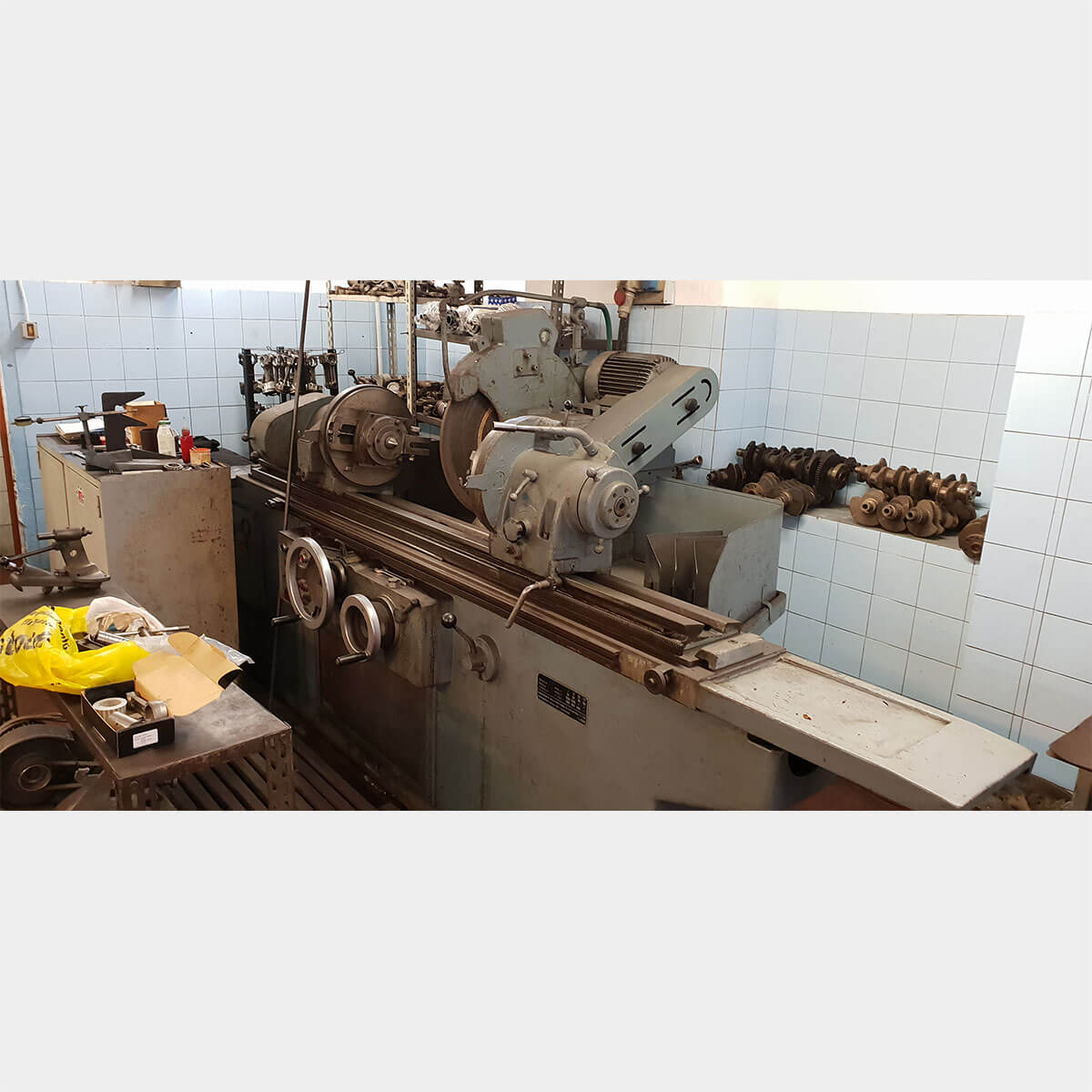 mu402 ribon rag1200 crankshaft grinding machine