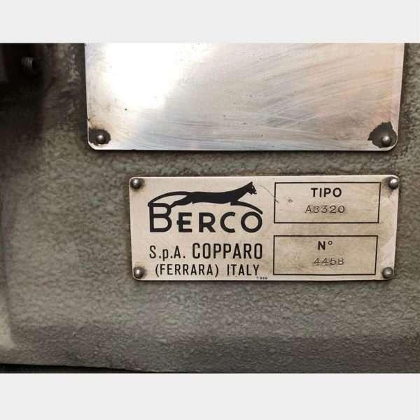 MU419 – BERCO AB320 USED CONROD BORING MACHINE
