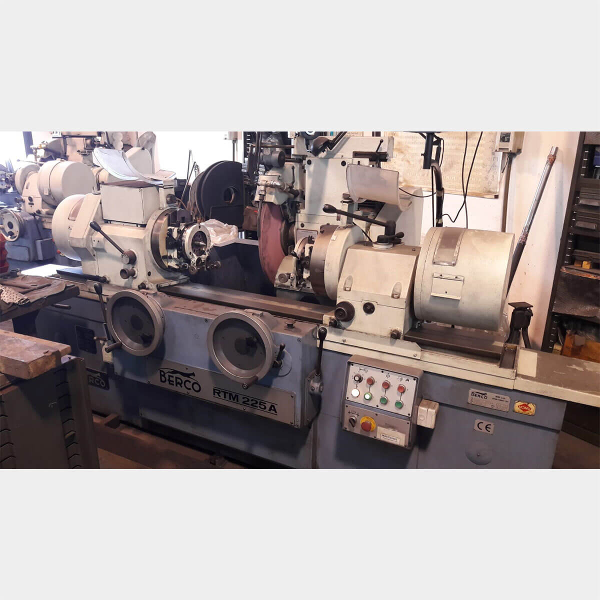 berco rtm225a 1275 crankshaft grinding machine