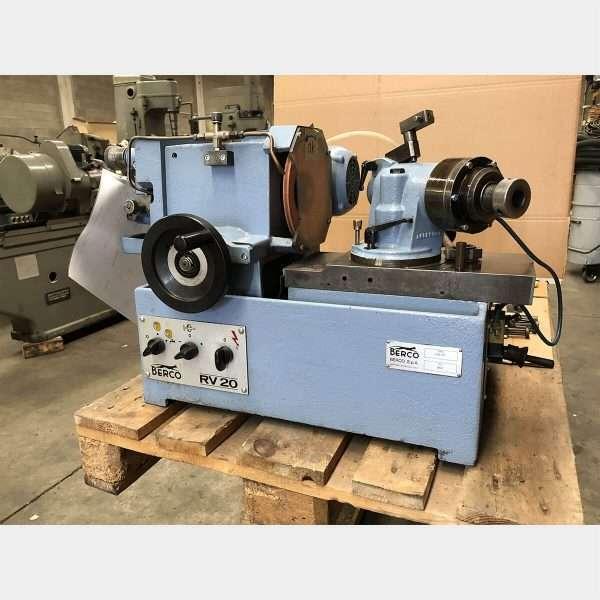 MU427 BERCO RV 20 P VALVE GRINDING MACHINE