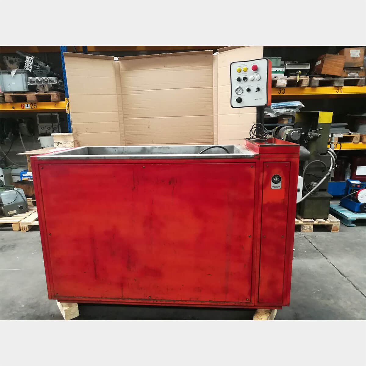 mu446 MONTCLAIR HTUsed Cylinder Head Pressure Tester