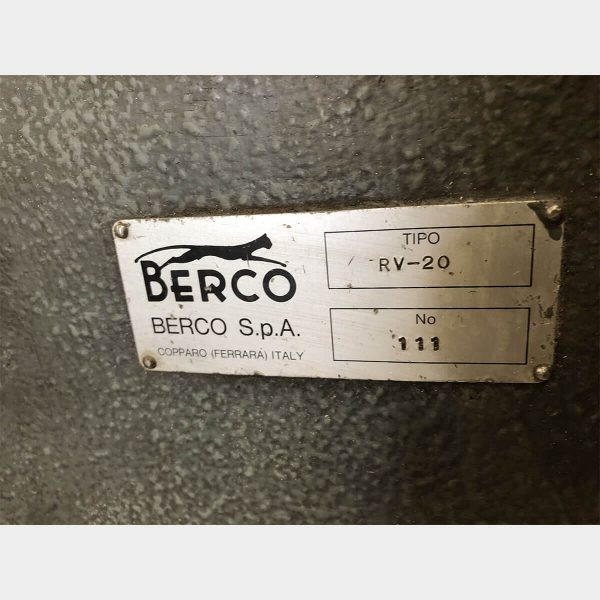 MU475 BERCO RV 20 VALVE GRINDING MACHINE