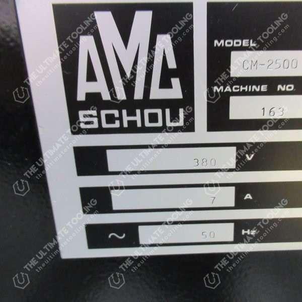 XU102 - AMC SCHOU CM 2500 ALESATRICE - SPIANATRICE DI BLOCCHI MOTORE USATA
