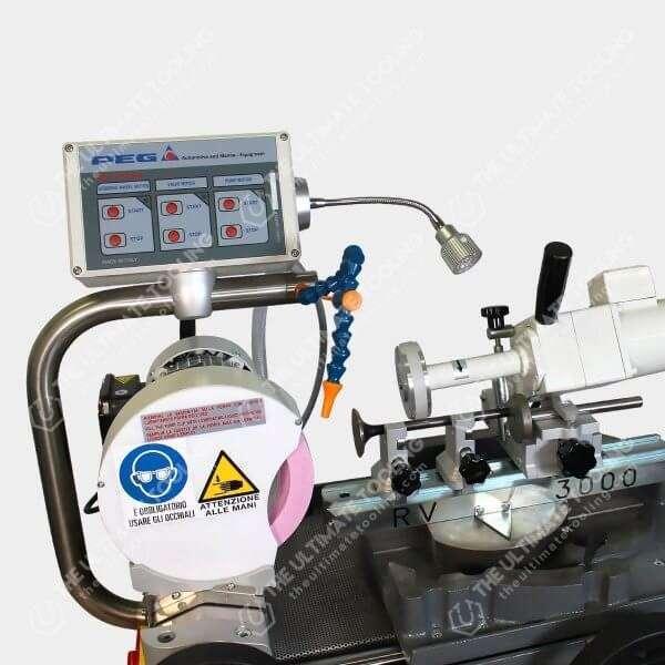 RV 3000 - Rectificadora sin centros de valvulas panel de control