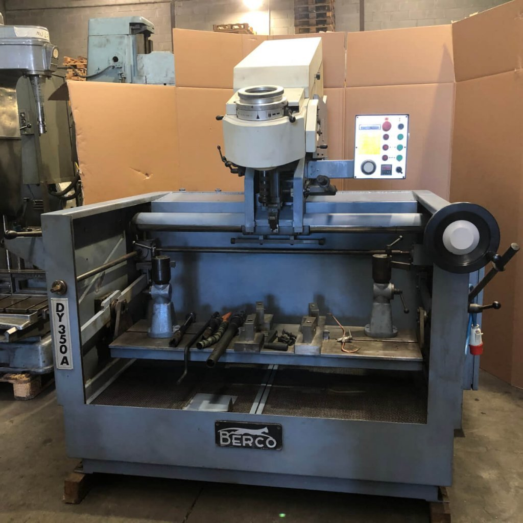 BERCO DY 350A used cylinder honing machine