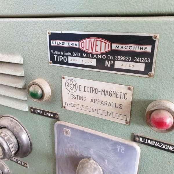 OLIVETTI RCM-4000 metalloscope